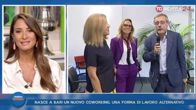 Faro futuro Coworking in Tv - Giovanna e Stefania Di Paola